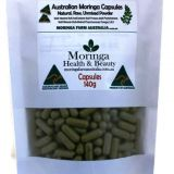 Moringa Powder in Vegetable Capsules